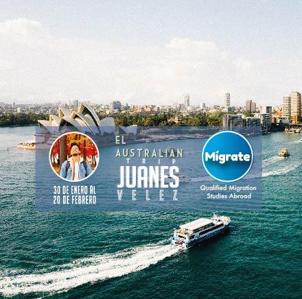 The Australian Trip Juanes Velez